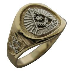 Masonic rings and jewelry in sterling silver, 10k or 14k yellow or
