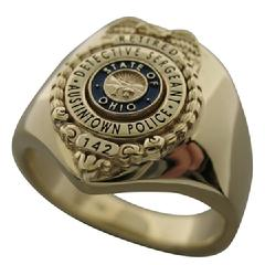 Custom police & fire badge jewelry and custom badges
