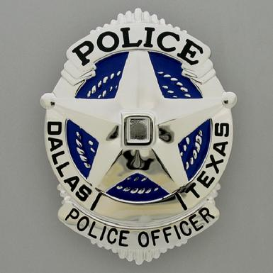 Dallas, TX Police badge